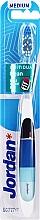 Düfte, Parfümerie und Kosmetik Zahnbürste mittel blau-schwarz-blau - Jordan Individual Clean Medium Head