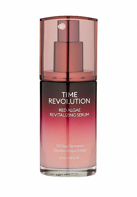 Revitalisierendes Gesichtsserum mit roten Algenextrakt - Missha Time Revolution Red Algae Revitalizing Serum