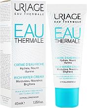 Düfte, Parfümerie und Kosmetik Reichhaltige Hydro-Aktiv-Creme für das Gesicht - Uriage Eau Thermale Rich Water Cream