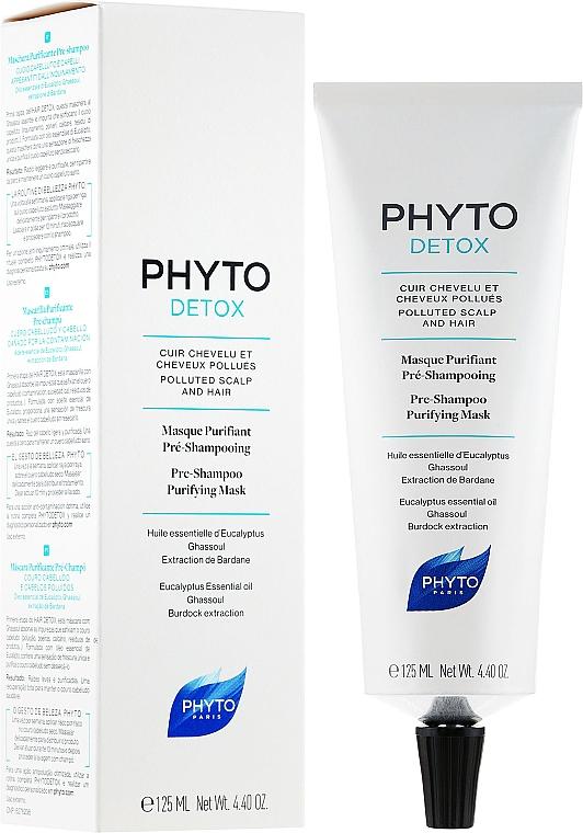 Reinigungsmaske vor dem Shampoo - Phyto Pre-Shampoo Purifying Mask