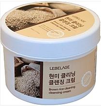 Düfte, Parfümerie und Kosmetik Gesichtsreinigungscreme mit braunem Reis - Lebelage Brown Rice Cleaning Cleansing Cream
