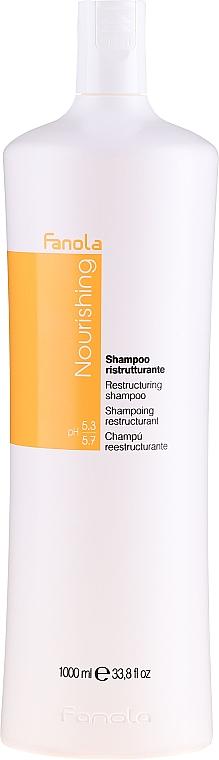 Restrukturierendes Shampoo für trockenes und widerspenstiges Haar - Fanola Restructuring Shampoo