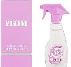Düfte, Parfümerie und Kosmetik Moschino Pink Fresh Couture - Eau de Toilette (Mini)