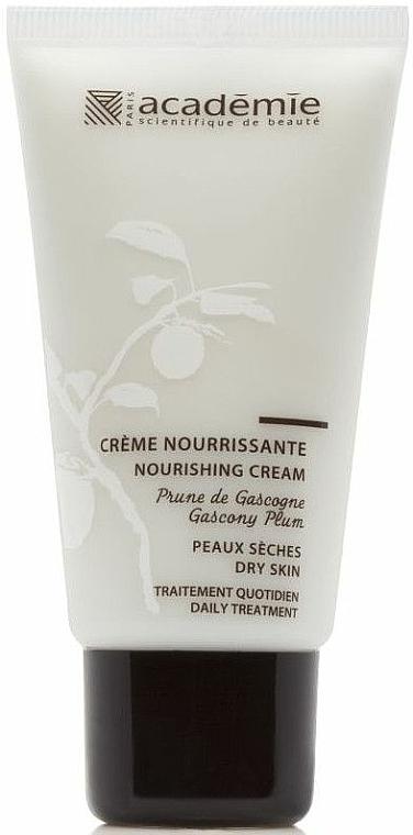 Pflegende Gesichtscreme mit Pflaumen aus Gascogne - Academie Nourishing Cream