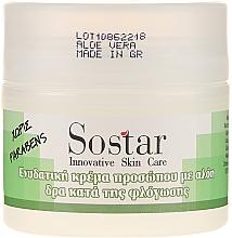 Düfte, Parfümerie und Kosmetik Feuchtigkeitsspendende Gesichtscreme mit Aoe Vera - Sostar Moisturizing Face Cream With Aloe Vera