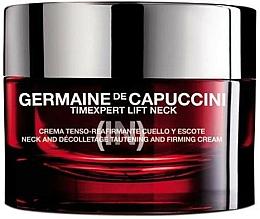 Düfte, Parfümerie und Kosmetik Straffende Hals- und Dekolleté-Creme - Germaine de Capuccini TimExpert Lift (In)