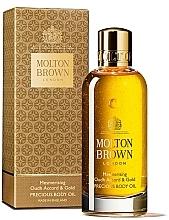Düfte, Parfümerie und Kosmetik Molton Brown Mesmerising Oudh Accord & Gold Precious Body Oil - Körperelixier mit Zimtblatt, Muskatnuss und Bergamotte