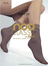 Düfte, Parfümerie und Kosmetik Kurze Damensocken Ada 20 Den Beige - Knittex