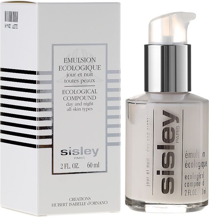 Gesichtsemulsion für Tag und Nacht für alle Hauttypen - Sisley Emulsion Ecologique Ecological Compound