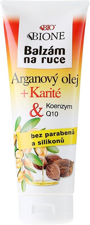 Handbalsam für jede Haut mit Arganöl - Bione Cosmetics Argan Oil Hand Ointment
