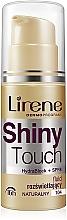 Düfte, Parfümerie und Kosmetik Aufhellendes Gesichtsfluid - Lirene Shiny Touch Illuminating Fluid