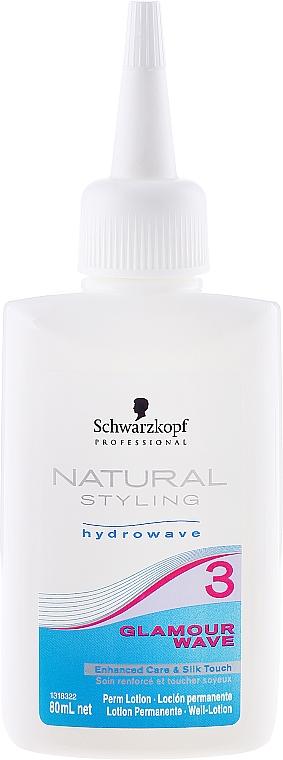 Dauerwelle-Lotion - Schwarzkopf Glamour Wave №3 — Bild N1
