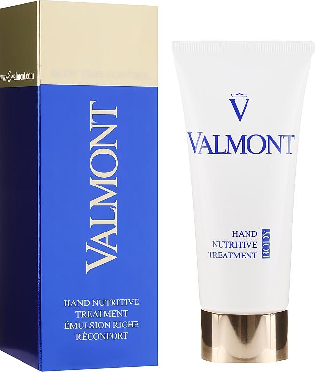 Aufbauende und pflegende Anti-Aging Handcreme - Valmont Hand Nutritive Treatment