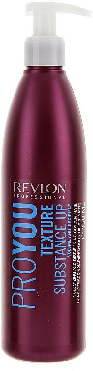 Haarkonzentrat für Volumen - Revlon Professional Pro You Texture Substance Up