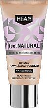 Düfte, Parfümerie und Kosmetik Feuchtigkeitsspendende Foundation - Hean Feel Natural Cover & Moist Foundation