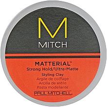 Düfte, Parfümerie und Kosmetik Ultra-matte Haarstylingpaste mit starkem Halt - Paul Mitchell Mitch Matterial Styling Clay