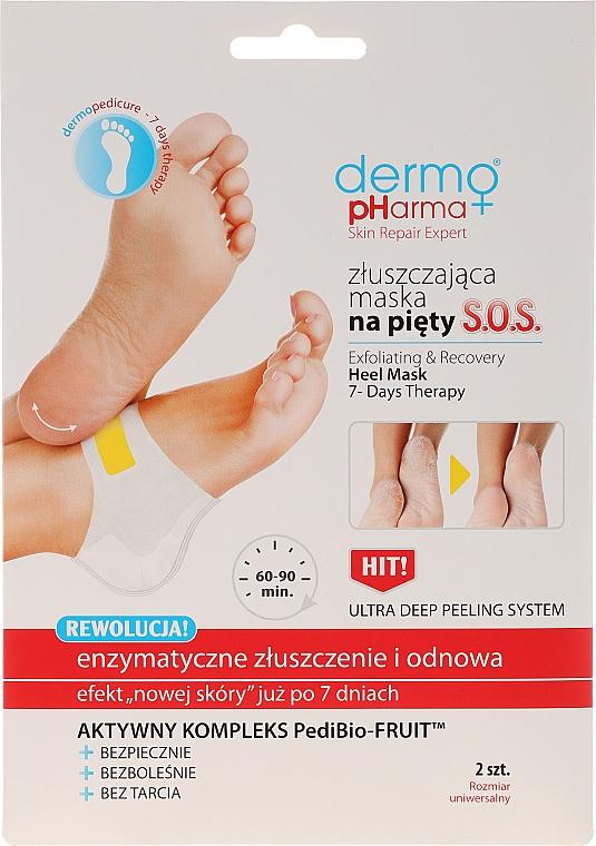 Enzymatische und erneuernde Peelingmaske für die Fersen - Dermo Pharma Skin Repair Expert