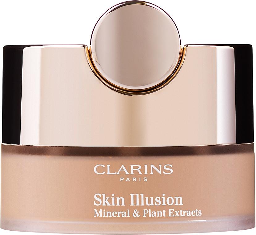 Loser Gesichtspuder mit Pinsel - Clarins Skin Illusion Loose Powder Foundation