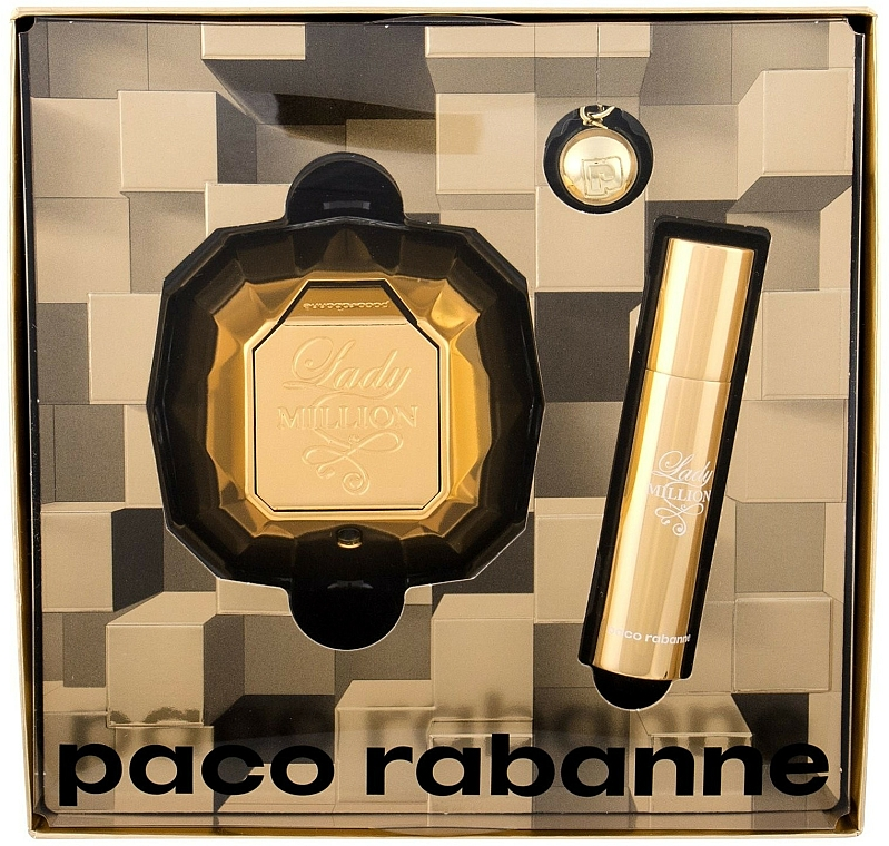 Paco Rabanne Lady Million - Set (Eau de Parfum/50ml + Mini/10ml)