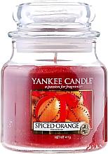 Düfte, Parfümerie und Kosmetik Duftkerze im Glas Spiced Orange - Yankee Candle Spiced Orange Jar
