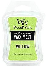 Düfte, Parfümerie und Kosmetik Tart-Duftwachs Willow - WoodWick Mini Wax Melt Willow Smart Wax System