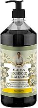 Düfte, Parfümerie und Kosmetik Schwarze Flüssigseife - Rezepte der Oma Agafja