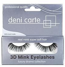 Düfte, Parfümerie und Kosmetik Künstliche Wimpern - Deni Carte Fake Eyelashes Mink Lashes WH-12