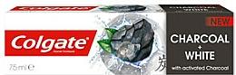 Düfte, Parfümerie und Kosmetik Aufhellende Zahnpasta mit Aktivkohle und natürlichen Extrakte - Colgate Charcoal + White Toothpaste