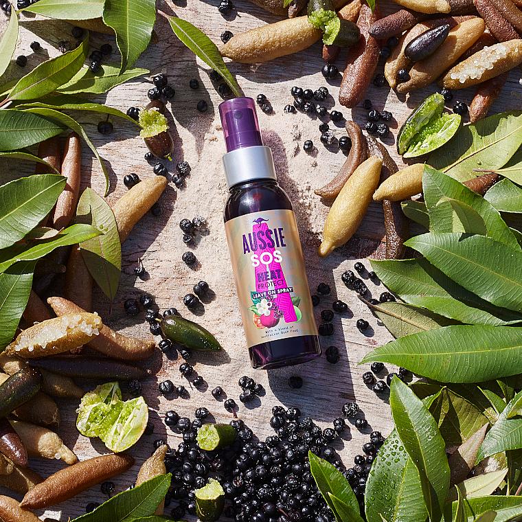 Leave-in Hitzeschutzspray für Haar - Aussie Sos Hear Saviour Leave on Spray — Bild N6