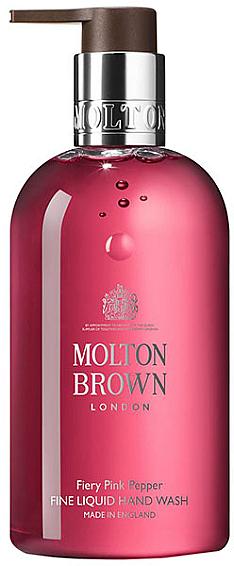Reichhaltige flüssige Handseife mit rosa Pfeffer - Molton Brown Fiery Pink Pepper  — Bild N1