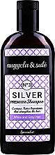 Silber-Shampoo für weißes und graues Haar - Nuggela & Sule Premium Silver №3 Shampoo — Bild N1
