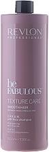Glättende Haarspülung - Revlon Professional Be Fabulous Texture Care Smooth Shampoo — Bild N1