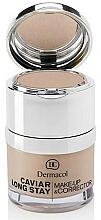 Düfte, Parfümerie und Kosmetik Langanhaltende Foundation und Concealer - Dermacol Caviar Long Stay Make-Up & Corrector