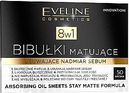 Düfte, Parfümerie und Kosmetik Mattierende Tücher - Eveline Cosmetics 8in1