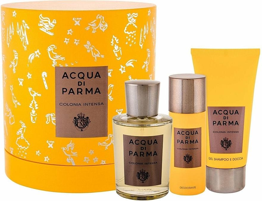 Acqua Di Parma Colonia Intensa - Duftset (Eau de Cologne 100ml + Duschgel 75ml + Deodorant 50ml)