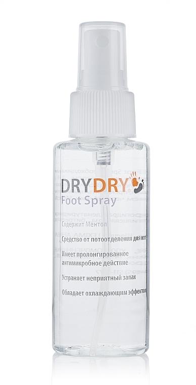 Antimykotisches Fußspray gegen Schwitzen und Gerüche - Excelsior Dry Dry Foot Spray