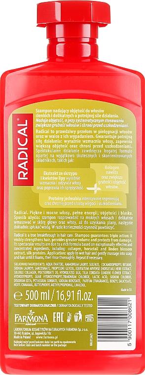 Shampoo für mehr Volumen - Farmona Radical Volume Shampoo — Bild N4