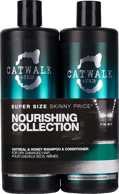 Haarpflegeset - Tigi Catwalk Oatmeal & Honey (Shampoo 750ml + Conditioner 750ml)