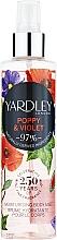 Düfte, Parfümerie und Kosmetik Yardley Poppy & Violet - Feuchtigkeitsspendender parfümierter Körpernebel