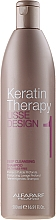 Düfte, Parfümerie und Kosmetik Tiefenreinigendes Shampoo mit Keratin - Alfaparf Lisse Design Keratin Therapy 1Deep Cleansing Shampoo for Women