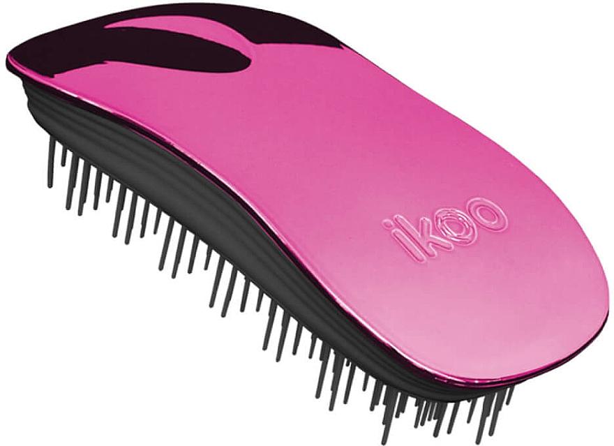 Haarbürste - Ikoo Home Cherry Metallic Brush