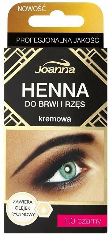 Henna für Augenbrauen und Wimpern - Joanna Henna