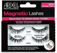 Düfte, Parfümerie und Kosmetik Magnetische Wimpern - Ardell Magnetic Strip Lash Double Demi Wispies