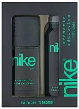 Düfte, Parfümerie und Kosmetik Nike Men Aromatic Addiction - Duftset (Körperspray 200ml + Deospray 75ml)