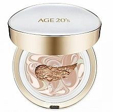 Düfte, Parfümerie und Kosmetik Cremiger Gesichtspuder mit austauschbarer Patrone SPF50+ - AGE 20's Signature Pact Long Stay SPF50+/PA+++