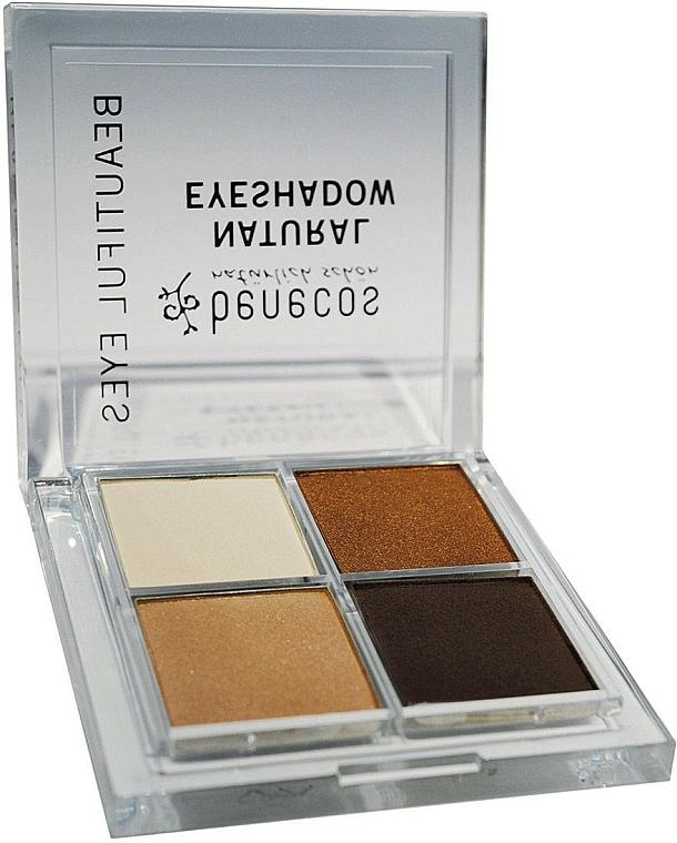 Lidschatten - Benecos Natural Quattro Eyeshadow