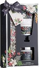 Düfte, Parfümerie und Kosmetik Handpflege-Set - Baylis & Harding Royal Garden Collection (Handcreme 50ml + Salzbad 70g + Nagelfeile 1 St.)
