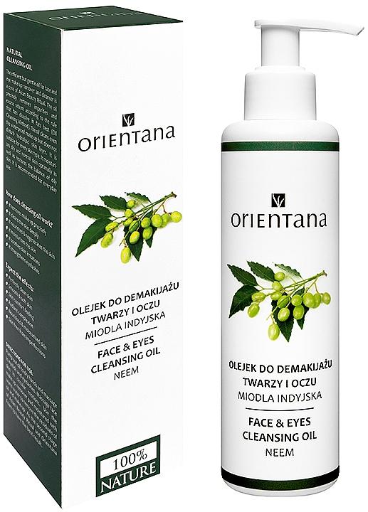 Reinigungsöl für Gesicht und Augen - Orientana Nourishing Cleansing Oil For Face & Eyes Neem