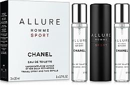 Düfte, Parfümerie und Kosmetik Chanel Allure Homme Sport Cologne - Duftset (Eau de Toilette (Refill) 2x20ml)