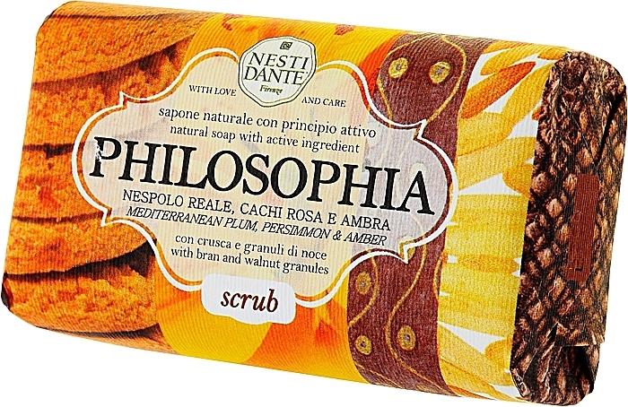 Naturseife Scrub - Nesti Dante Exfoliating & Balancing Soap Philsophia Collection